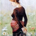 zwanger-olie-op-doek-portretten